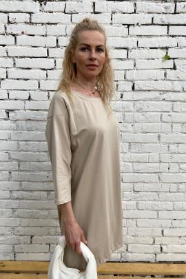 Šaty Alina béžové