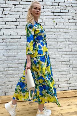 Šaty Flora modré