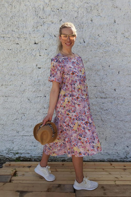 Šaty Romanca fialové