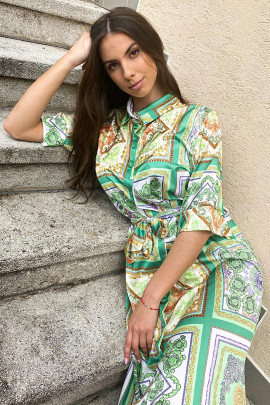 Šaty Elis zelené