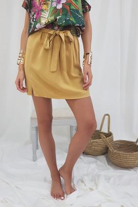 Sukňa CLARA žltá
