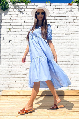 Šaty Arigo bledomodré