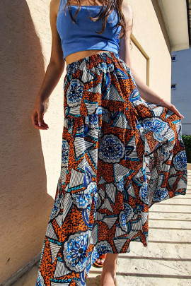 Sukňa Sonja oranžová