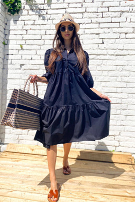 Šaty Deany čierne
