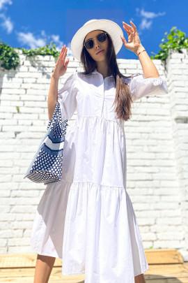 Šaty Deany biele