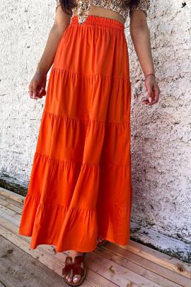 Sukňa Rea oranžová