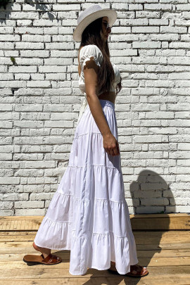 Sukňa Rea biela