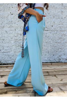 Nohavice Michelle modré