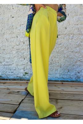 Nohavice Michelle žlté