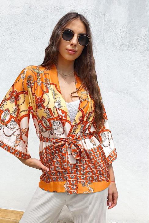 Kimono Luigi oranžové