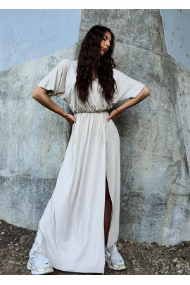 Šaty FEMINE béžové