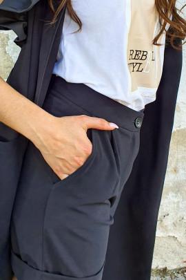 Nohavice BRED čierne