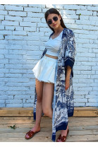 Kimono Dionisa modré