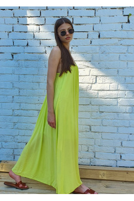 Šaty Delia limetkové