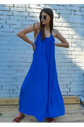 Šaty Delia modré