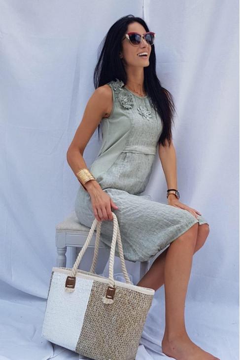 Šaty Florence khaki