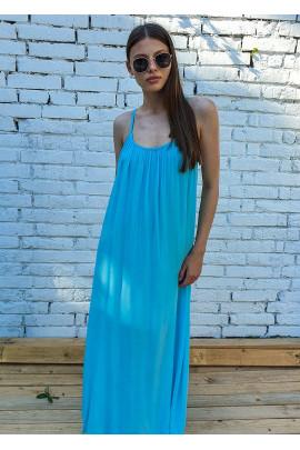 Šaty Delia bledomodré