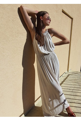 Šaty Constance béžové