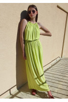 Šaty Constance limetkové