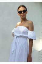 Šaty Clotilde biele