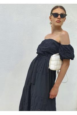 Šaty Clotilde čierne