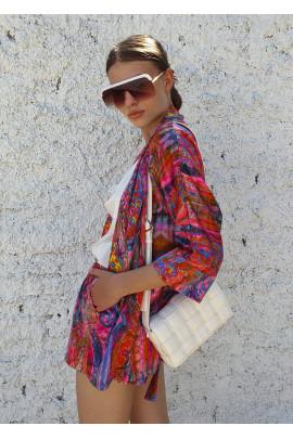 Kimono Silvia fuksiové