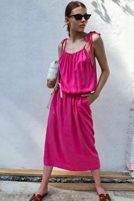 Šaty Manuela fuksiové