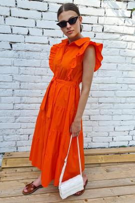 Šaty Vanni oranžové