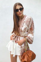 Kimono Clarisse hnedé