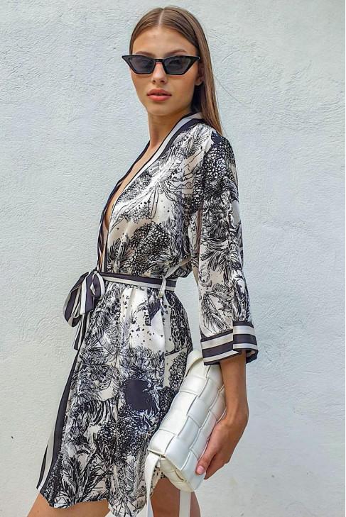 Kimono Clarisse čierne