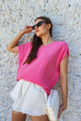 Tričko Madeira ružové