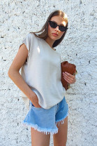 Tričko Madeira sivé
