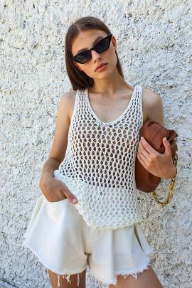 Tielko Summer biele