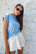 Tričko Sophia bledomodrý