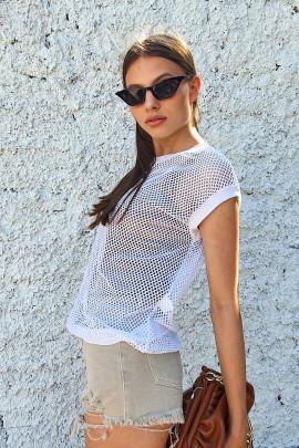 Tričko Tristano biele