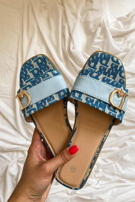 Šľapky Portos modré