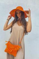 Klobúk Miami oranžový