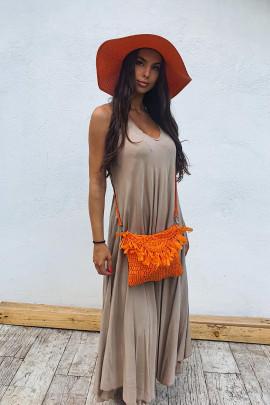 Kabelka Clelia oranžová