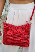 Kabelka Clelia červená
