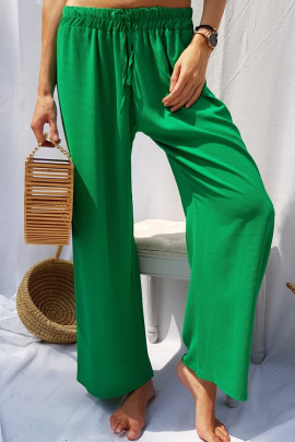 Nohavice LEA zelené