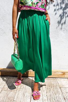 Nohavice Evandro zelené