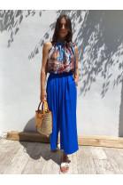Nohavice Evandro modré