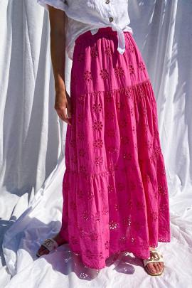 Sukňa Dafne ružová