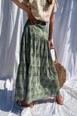 Sukňa Dafne zelená