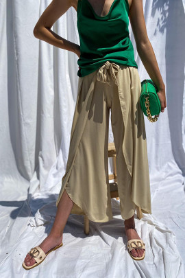 Nohavice Otello béžové