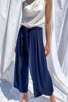 Nohavice Otello modré