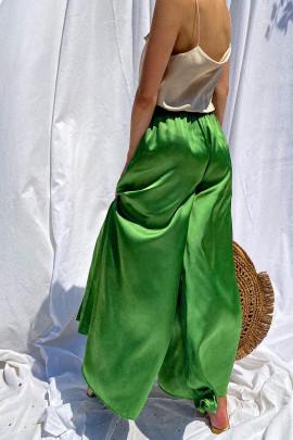 Nohavice Cino limetkové