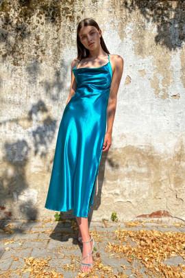 Šaty Diana petrolejové