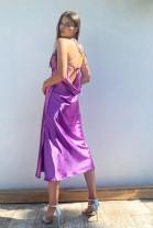 Šaty Diana fialové