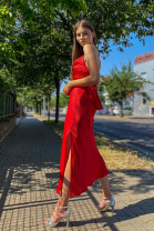 Šaty Diana červené